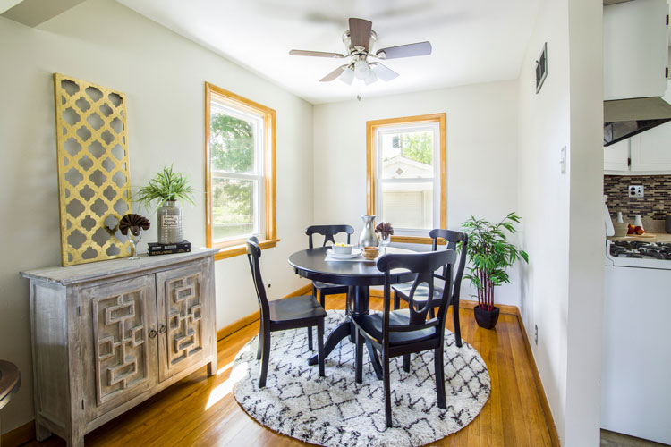 prepare your home for sale dining room